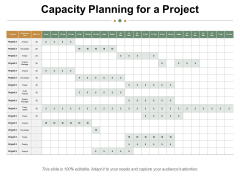 Capacity Planning For A Project Ppt PowerPoint Presentation Styles Influencers