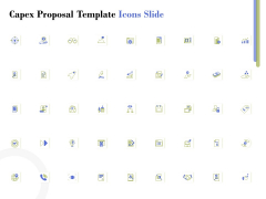 Capex Proposal Template Icons Slide Ppt Infographic Template Graphic Images PDF