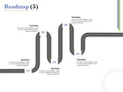 Capex Proposal Template Roadmap Five Satges Ppt Layouts Ideas PDF