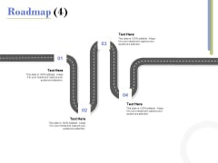 Capex Proposal Template Roadmap Four Satges Ppt File Example PDF