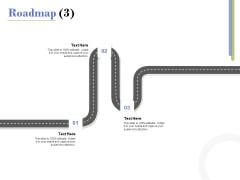 Capex Proposal Template Roadmap Three Satges Ppt Outline Example PDF