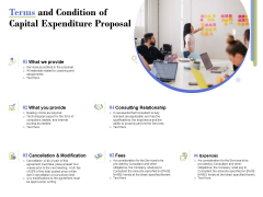 Capex Proposal Template Terms And Condition Of Capital Expenditure Proposal Download PDF