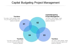 Capital Budgeting Project Management Ppt PowerPoint Presentation Portfolio Background Cpb