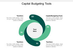 Capital Budgeting Tools Ppt PowerPoint Presentation Model Diagrams Cpb