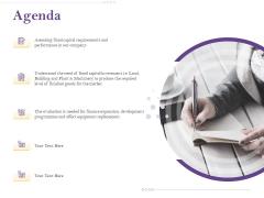 Capital Consumption Adjustment Agenda Rules PDF
