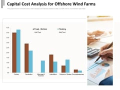 Capital Cost Analysis For Offshore Wind Farms Ppt PowerPoint Presentation File Example PDF