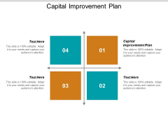 Capital Improvement Plan Ppt PowerPoint Presentation Pictures Outline Cpb