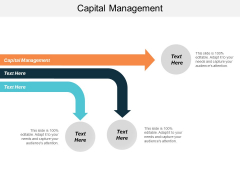 Capital Management Ppt PowerPoint Presentation Layouts Topics Cpb