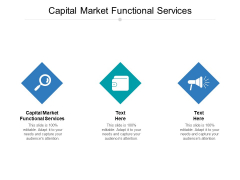 Capital Market Functional Services Ppt PowerPoint Presentation Pictures Inspiration Cpb Pdf