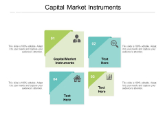 Capital Market Instruments Ppt PowerPoint Presentation Gallery Graphics Cpb