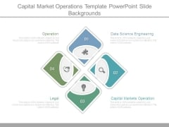 Capital Market Operations Template Powerpoint Slide Backgrounds