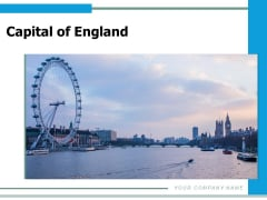 Capital Of England London Eye Monument Big Ben Panorama View Ppt PowerPoint Presentation Complete Deck