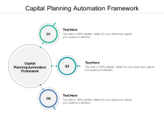 Capital Planning Automation Framework Ppt PowerPoint Presentation Gallery Smartart Cpb