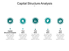 Capital Structure Analysis Ppt PowerPoint Presentation Gallery Clipart Images Cpb