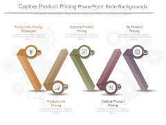 Captive Product Pricing Powerpoint Slide Backgrounds