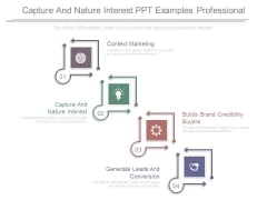 Capture And Nature Interest Ppt Examples Professional