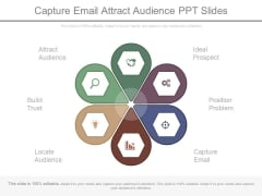 Capture Email Attract Audience Ppt Slides