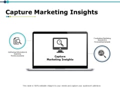 Capture Marketing Insights Ppt PowerPoint Presentation Infographic Template Demonstration