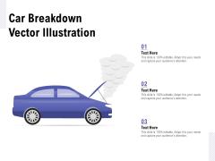 Car Breakdown Vector Illustration Ppt PowerPoint Presentation Slides Guide