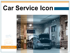 Car Service Icon Mobile Engineer Auto Repair Wheel And Tools Ppt PowerPoint Presentation Complete Deck