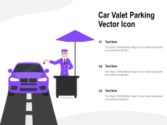 Car Valet Parking Vector Icon Ppt PowerPoint Presentation Gallery Graphic Images