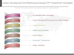 Career Development And Mentoring Example Ppt Powerpoint Templates
