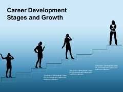 Career Development Stages And Growth Ppt PowerPoint Presentation Gallery Grid