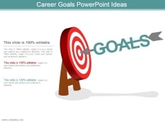 Career Goals Powerpoint Ideas