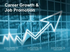 Career Growth And Job Promotion Ppt PowerPoint Presentation Gallery Portfolio