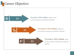 Career Objective Ppt PowerPoint Presentation Images