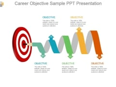 Career Objective Sample Ppt Presentation