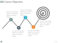 Career Objective Template 2 Ppt PowerPoint Presentation Show Brochure