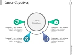 Career Objectives Ppt PowerPoint Presentation Show