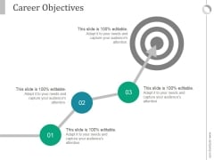 Career Objectives Ppt PowerPoint Presentation Slide Download