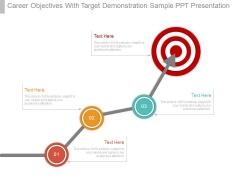 Career Objectives With Target Demonstration Sample Ppt Presentation