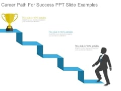 Career Path For Success Ppt Slide Examples