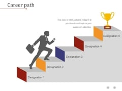 Career Path Template 1 Ppt PowerPoint Presentation Introduction