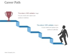 Career Path Template 1 Ppt PowerPoint Presentation Templates