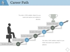 Career Path Template 2 Ppt PowerPoint Presentation Example 2015