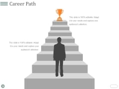 Career Path Template 2 Ppt PowerPoint Presentation Outline Example Topics