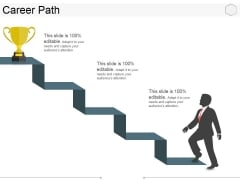 Career Path Template 2 Ppt PowerPoint Presentation Outline Topics