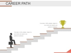 Career Path Template 2 Ppt PowerPoint Presentation Templates