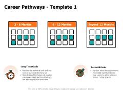 Career Pathways Goals Ppt PowerPoint Presentation Icon Smartart