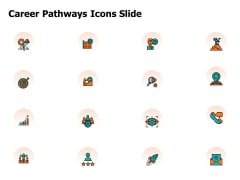 Career Pathways Icons Slide Ppt PowerPoint Presentation Layouts Template