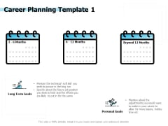 Career Planning Goals Ppt PowerPoint Presentation Portfolio Graphics Design