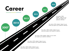 Career Ppt PowerPoint Presentation Gallery Good