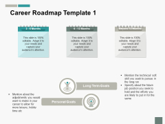 Career Roadmap Notes Ppt PowerPoint Presentation Pictures Show