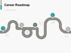 Career Roadmap Ppt PowerPoint Presentation Complete Deck With Slides