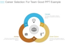 Career Selection For Team Good Ppt Example
