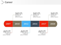 Career Template 2 Ppt PowerPoint Presentation File Inspiration